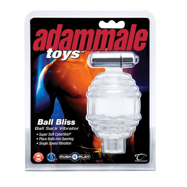 Adam Male Toys Ball Bliss Ball Sack Vibrator