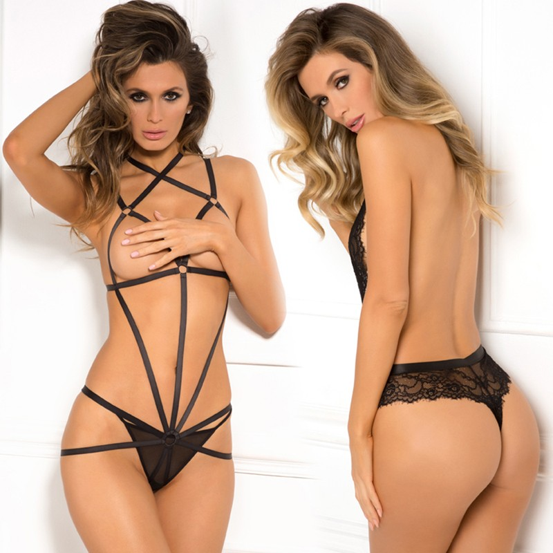 After Midnight Wrapped In Lust Body Harness Black M/L