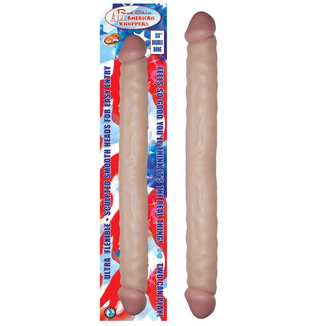 All American Whoppers 18in. Double Dong