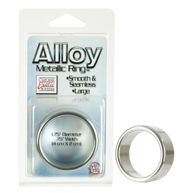 Alloy Metallic Ring - Large