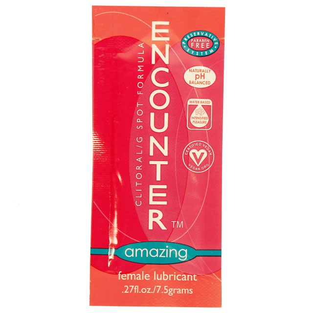 Amazing Encounter Female Lubricant (.27oz foil)