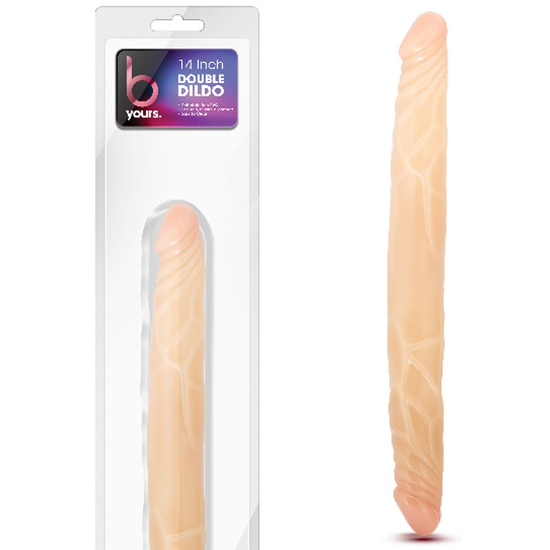 "B Yours 14"" Double Dong Beige"