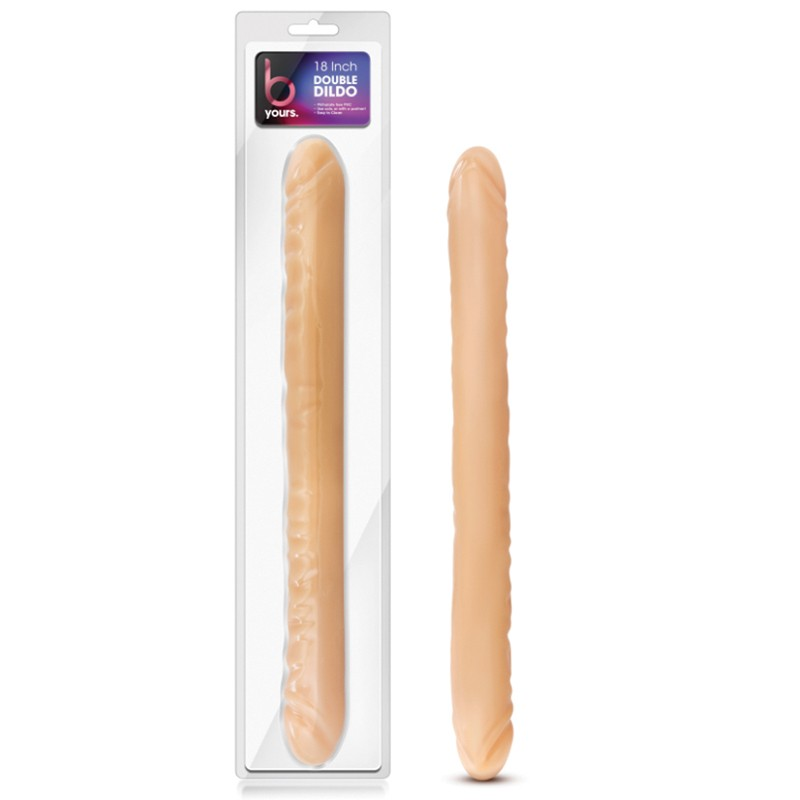 "B Yours 18"" Double Dong Beige"