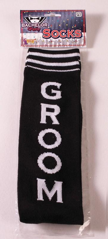 Bachelor Party Groom Socks