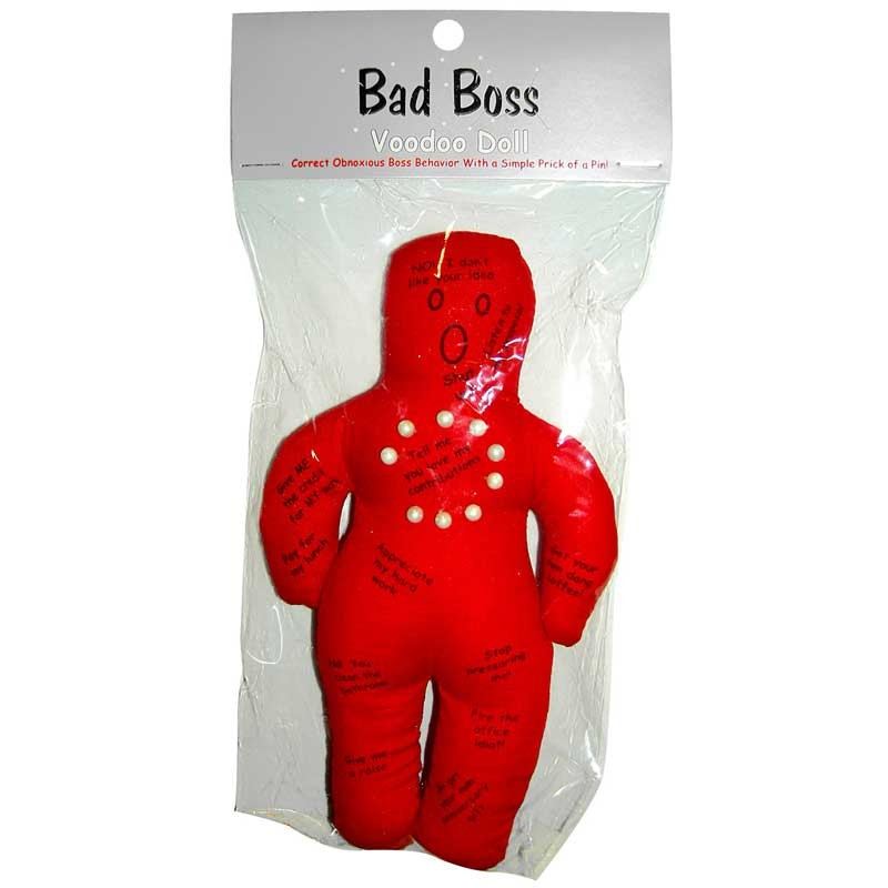 Bad Boss Voodoo Doll