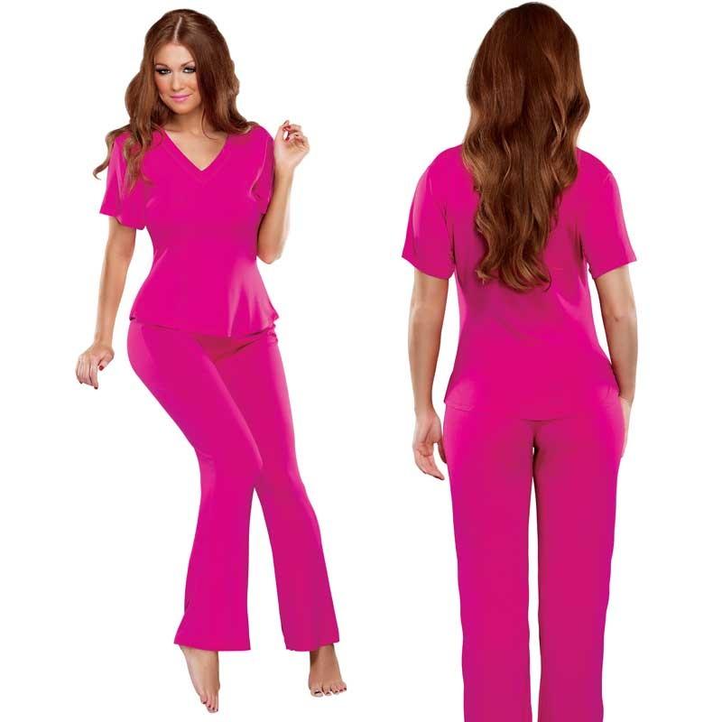 Bamboo Magic Lounge Pant Pink Large