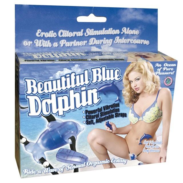Beautiful Dolphin (Blue)