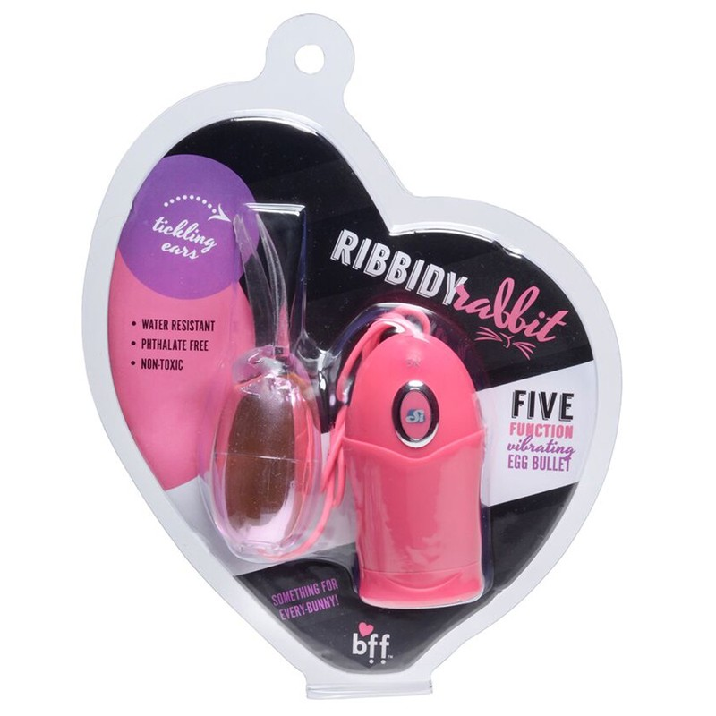 BFF Ribbidy Rabbit Egg Bullet Pink
