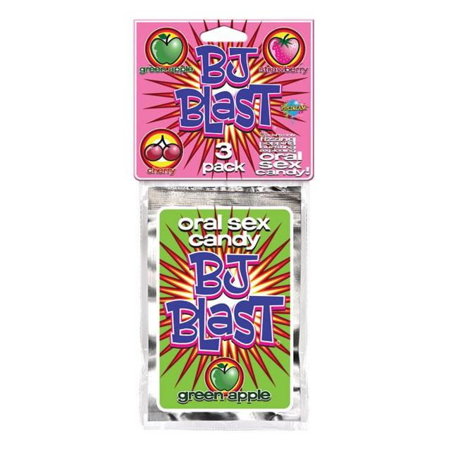 BJ Blast 3 pack (Strawberry, Cherry & Green Apple)