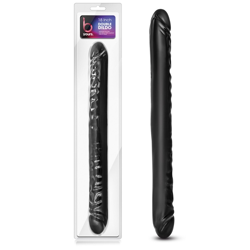 Blush B Yours Double Dildo Black 18in