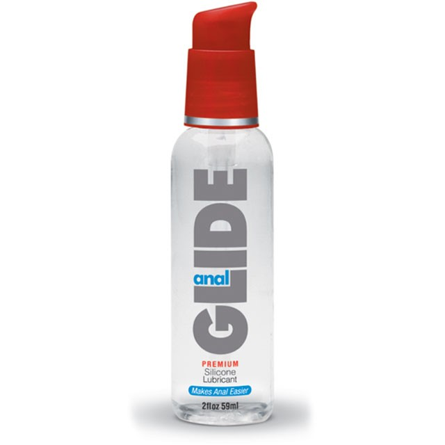 Body Action Anal Glide 2 fl oz Silicone Lubricant