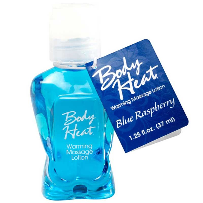 Body Heat Blue Raspberry 1.25 fl.oz.
