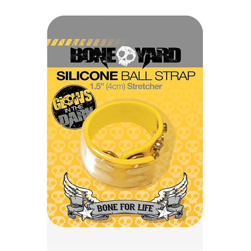Boneyard Ball Strap Yellow