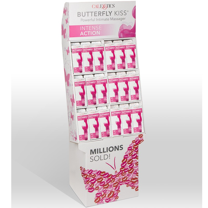 Butterfly Kiss Floor Display (72 pieces)
