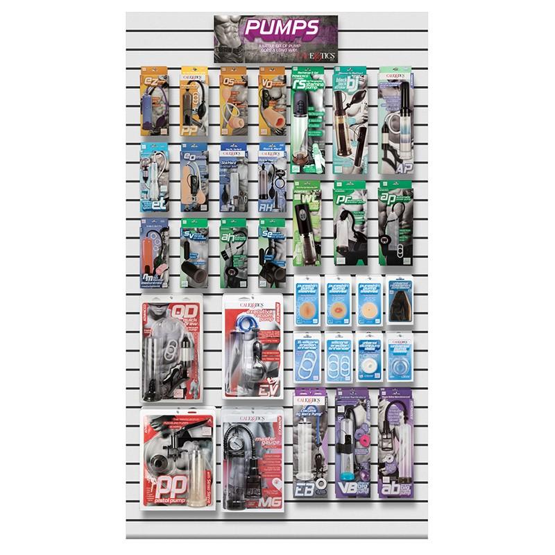 Calex Pumps Planogram