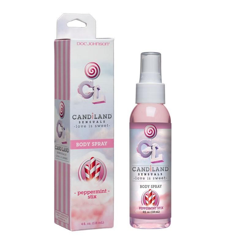 CandiLand Peppermint Stix Body Spray Lickable 4oz