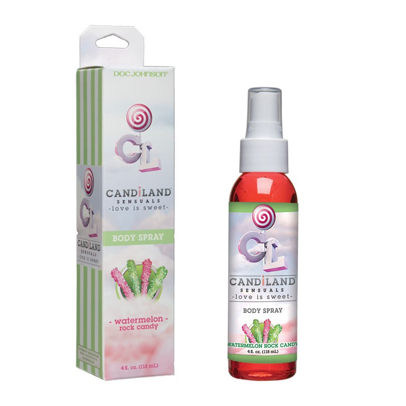 CandiLand Watermelon Rockcandy Body Spray Lickable 4oz