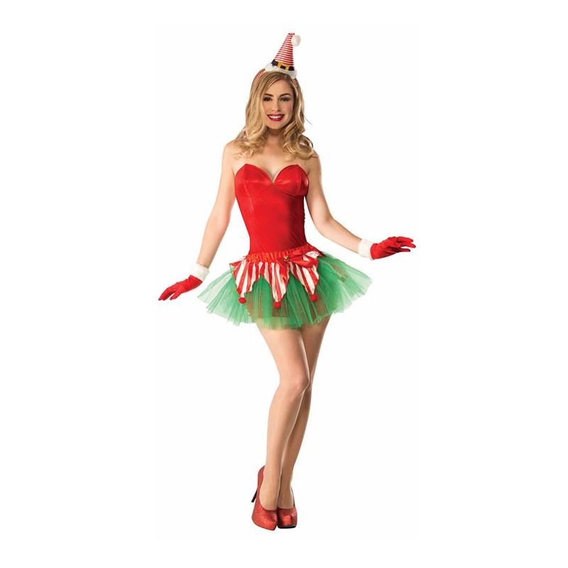 Chrismas Candy Cane Adult Tutu One Size