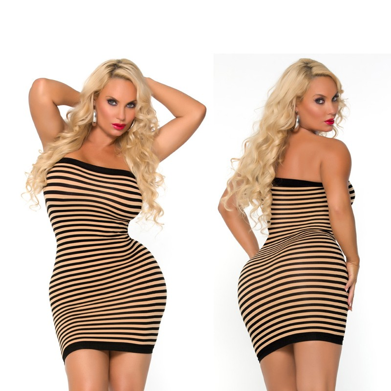 Cocolicious Hot Coco Seamless Tube Dress Nude O/S