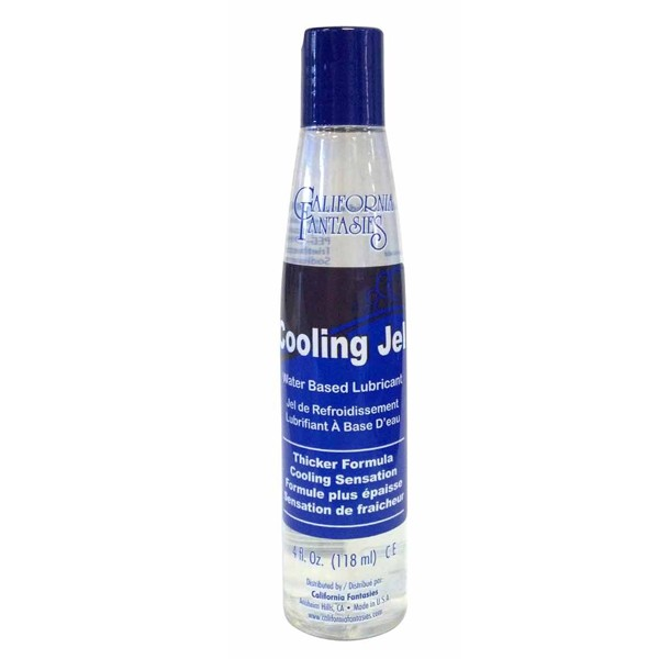 Cooling Jel Water Based Lubricant 4 fl oz