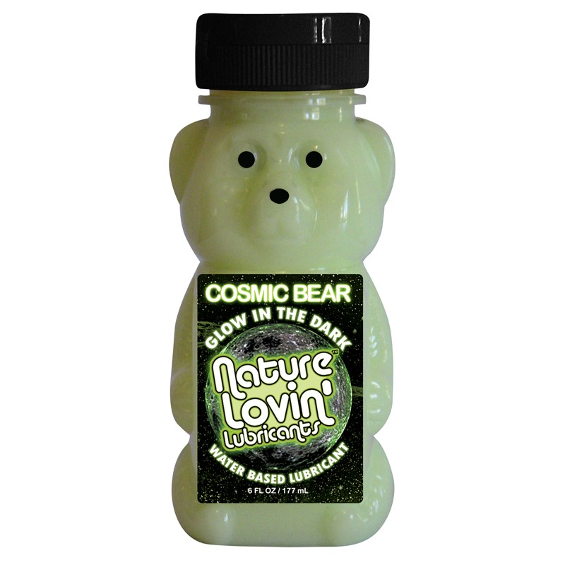 Cosmic Bear Glow In The Dark Water Based Lubricant 6 fl oz
