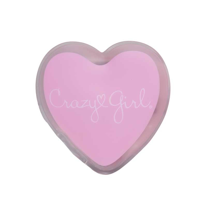 Crazy Girl Wanna Be Pampered Mini Warming Heart Body Massager, 3in., Pink, 2pk Boxed