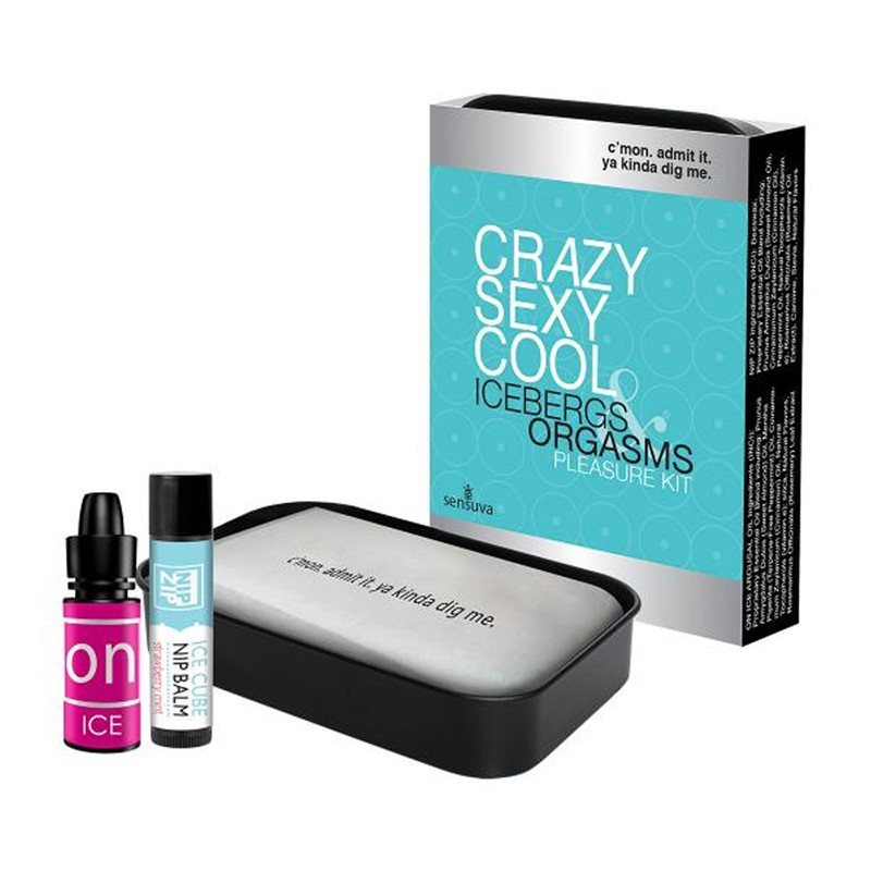 Crazy Sexy Cool Icebergs & Orgasms Cooling Arousal Pleasure Kit