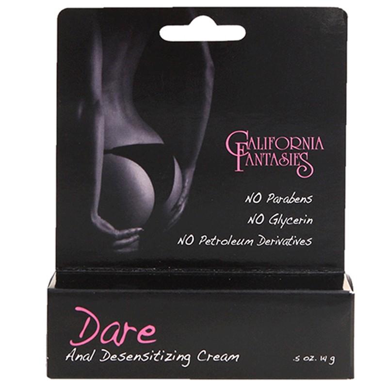 Dare Anal Desensitizing Cream .5oz Tube Boxed