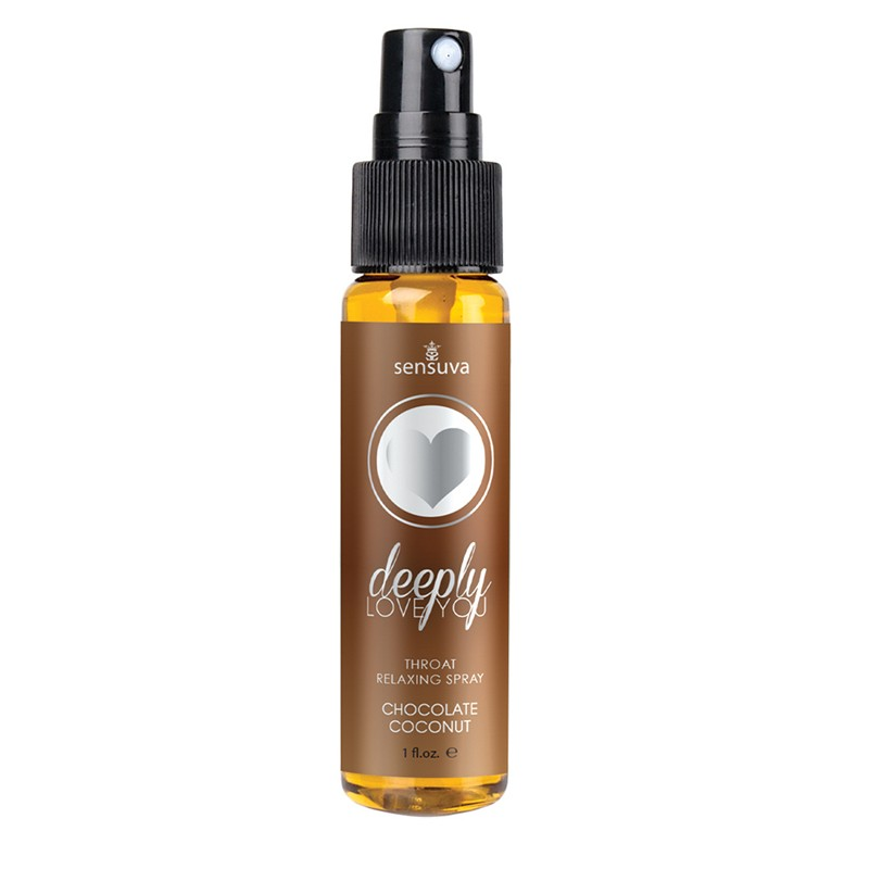 Deeply Love You Chocolate Coconut Throat Relaxing Spray 1oz Bottle