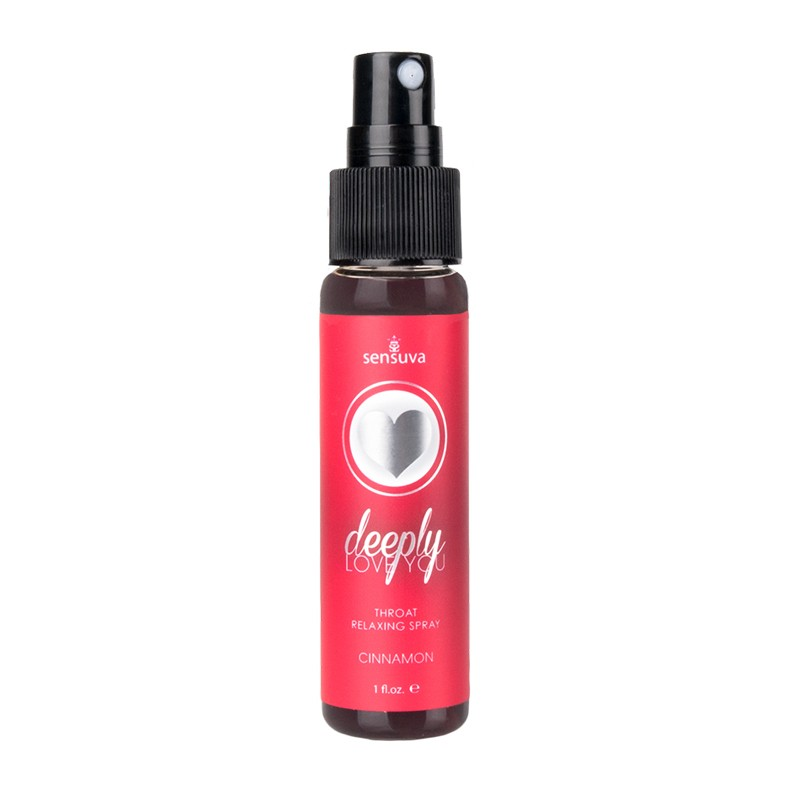 Deeply Love You Throat Relaxing Spray Cinnamon 1oz