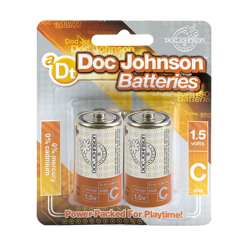 Doc Johnson C Batteries (2)