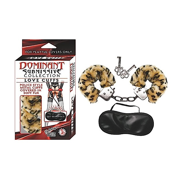 Dominant Submissive Collection Love Cuff (Leopard)