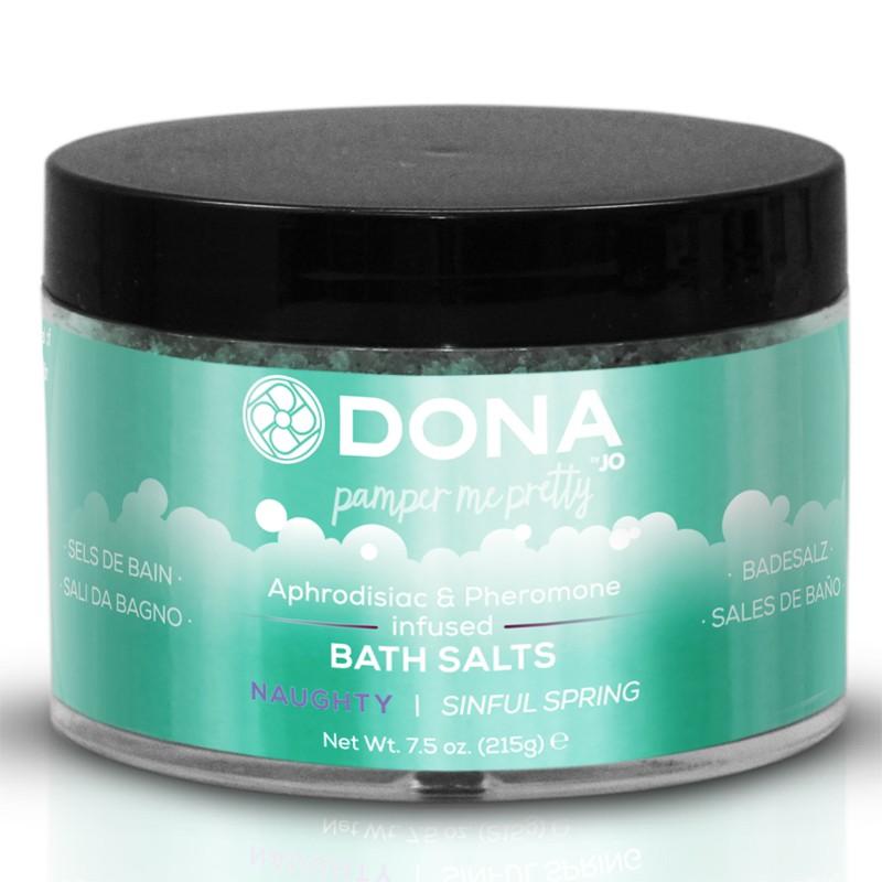 DONA Bath Salt Naughty Aroma: Sinful Spring 7.5oz
