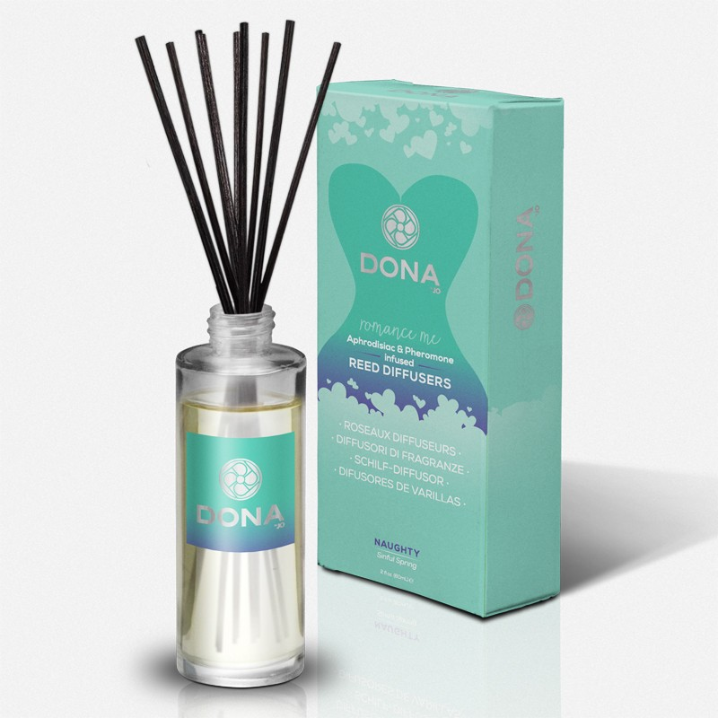 DONA Reed Diffusers Naughty Aroma: Sinful Spring 2oz