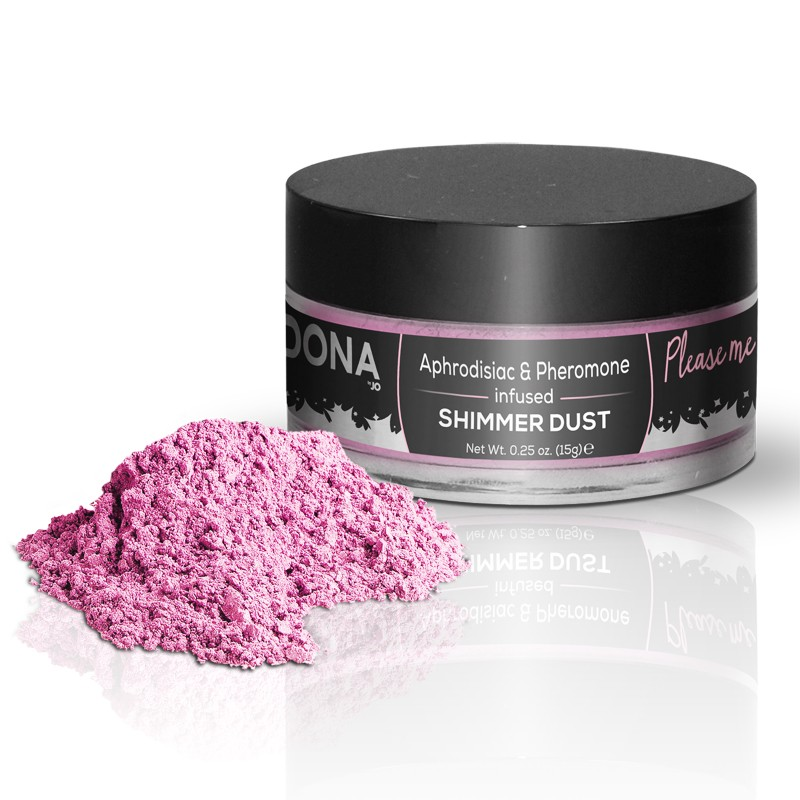 DONA Shimmer Dust Pink .75oz