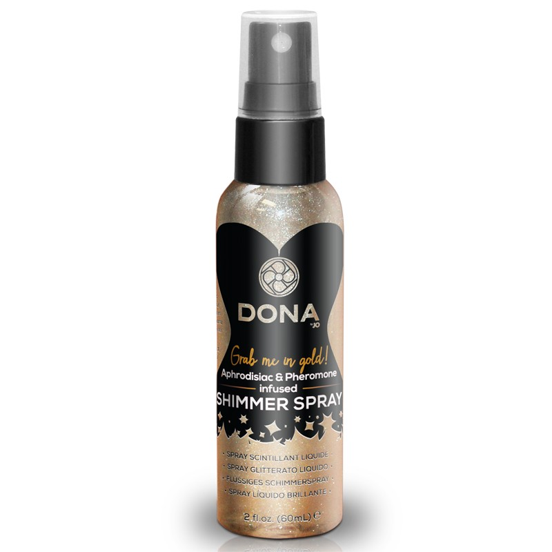 DONA Shimmer Spray Gold 2oz
