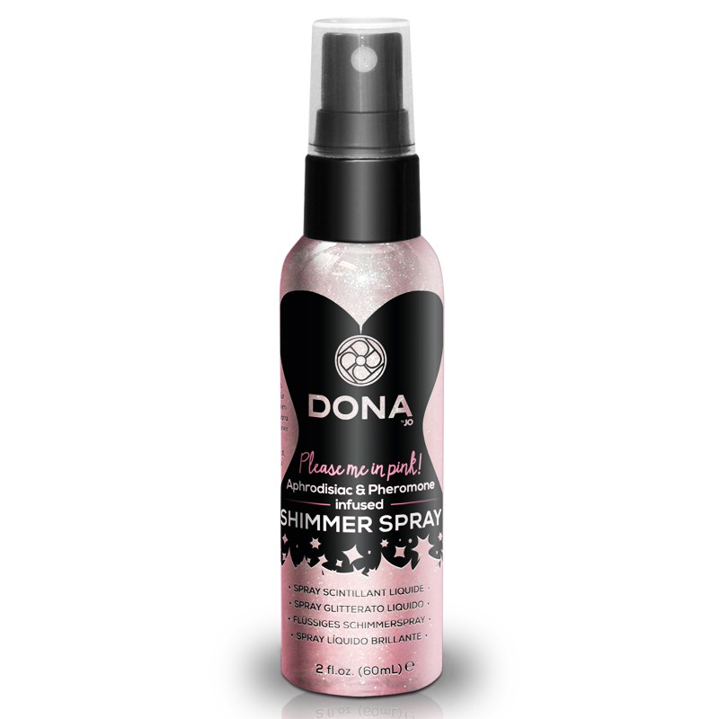 DONA Shimmer Spray Pink 2oz