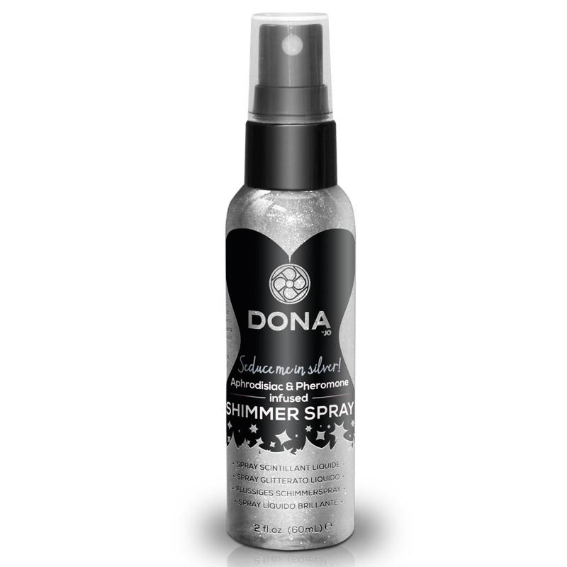 DONA Shimmer Spray Silver 2oz