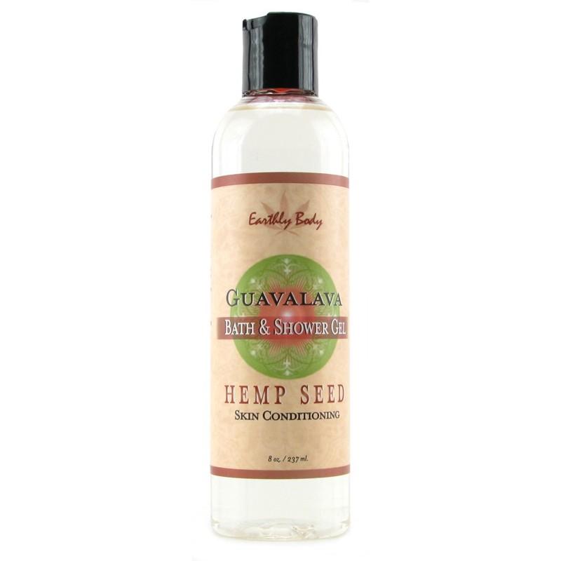 Earthly Body Bath & Shower Gel Guavalava 8oz