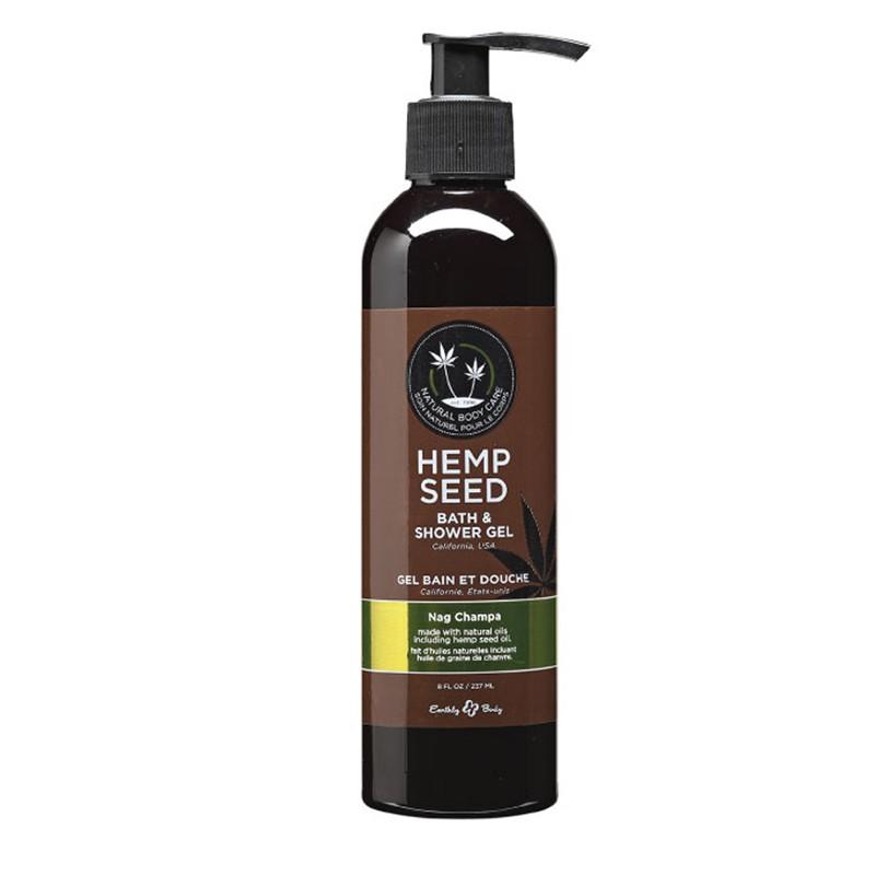 Earthly Body Bath & Shower Gel Nag Champa 8oz