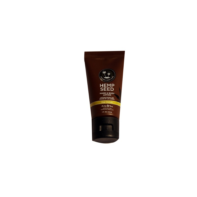 Earthly Body Hand & Body Velvet Lotion Nag Champa 1oz