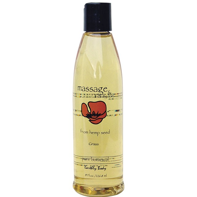 Earthly Body Masage Oil Nag Champa 8oz