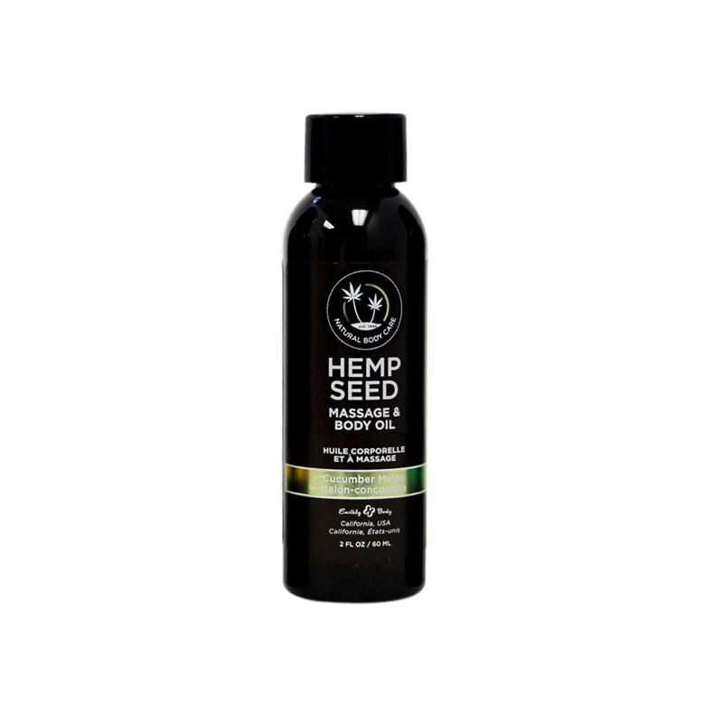 Earthly Body Massage Oil Cucumber-Melon 2oz