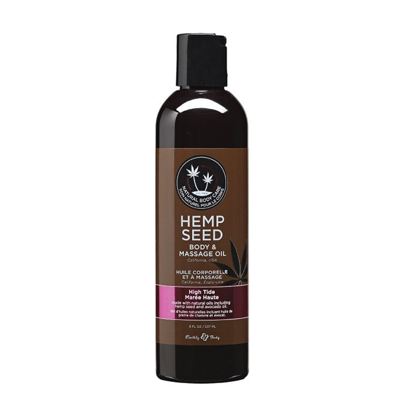 Earthly Body Massage Oil High Tide 8oz.