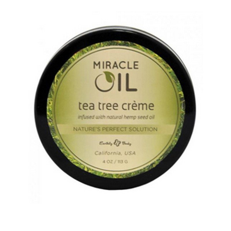 Earthly Body Miracle Oil Tea Tree Crème 4oz