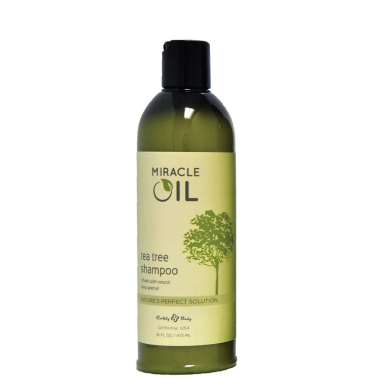 Earthly Body Miracle Oil Tea Tree Shampoo 16oz
