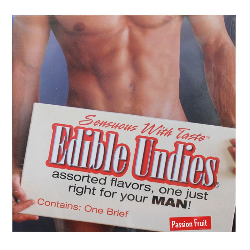 Edible Undies For Men - Passion Fruit