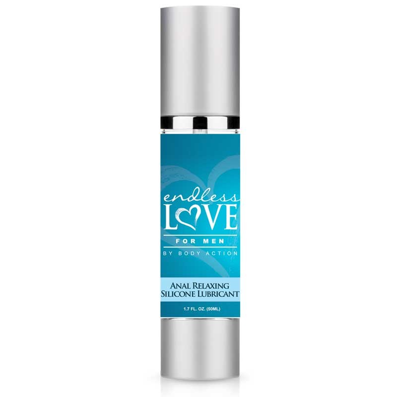 Endless Love For Men Anal Relaxing Silicone Lube 1.7oz