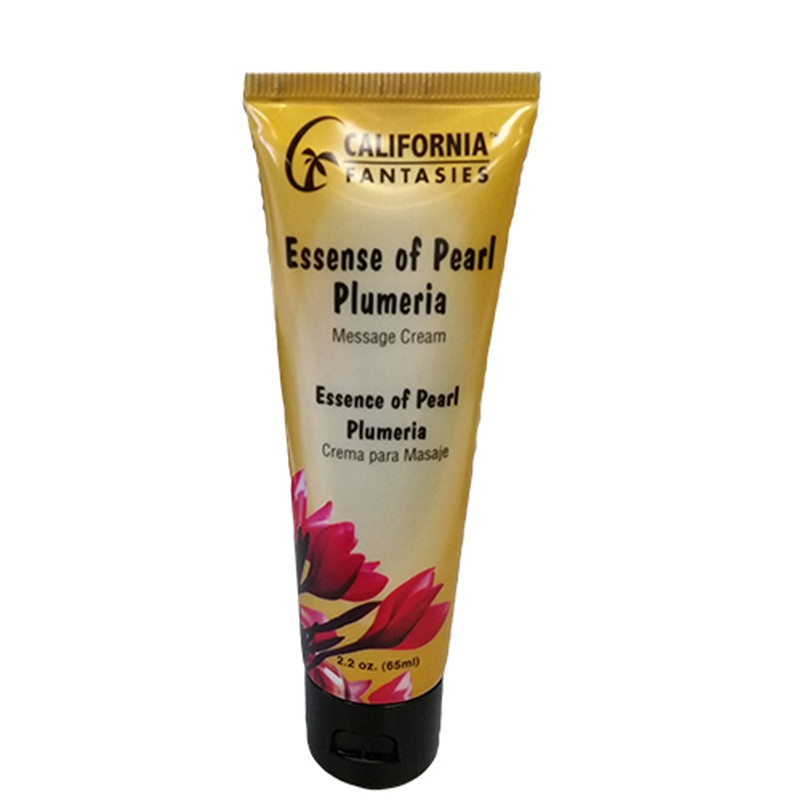 Essence of Pearl Massage Cream 2.2oz tube - Plumeria