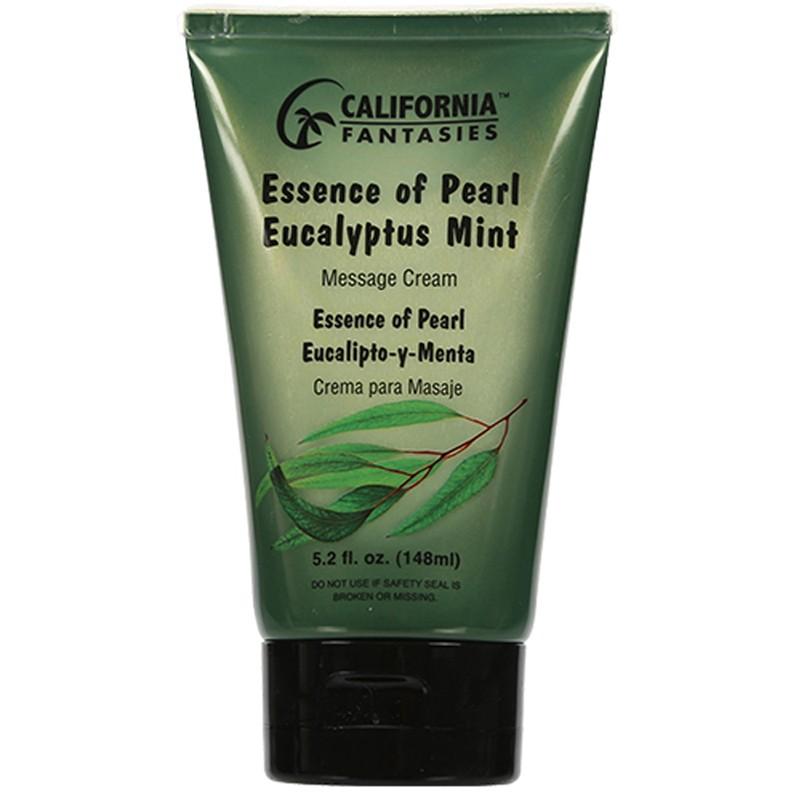 Essence of Pearl Massage Cream 5.2oz tube - Eucalyptus Mint